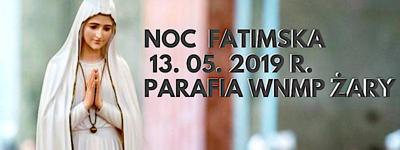 Noc Fatimska – program